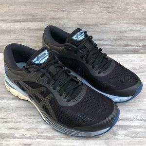 ASICS black running tennis shoe